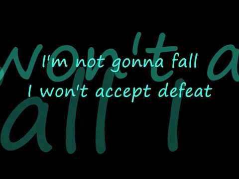 I'm not Going Down {Lyrics}