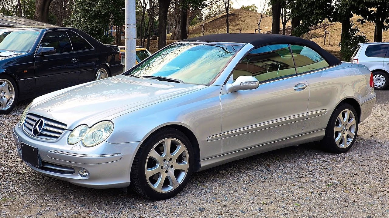 2003 Mercedes Benz Clk320 Convertible Estonia Import An Auction Purchase Review