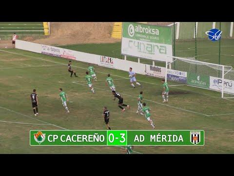 Resumen: CP Cacereño - AD Mérida (Pretemporada 21/22)