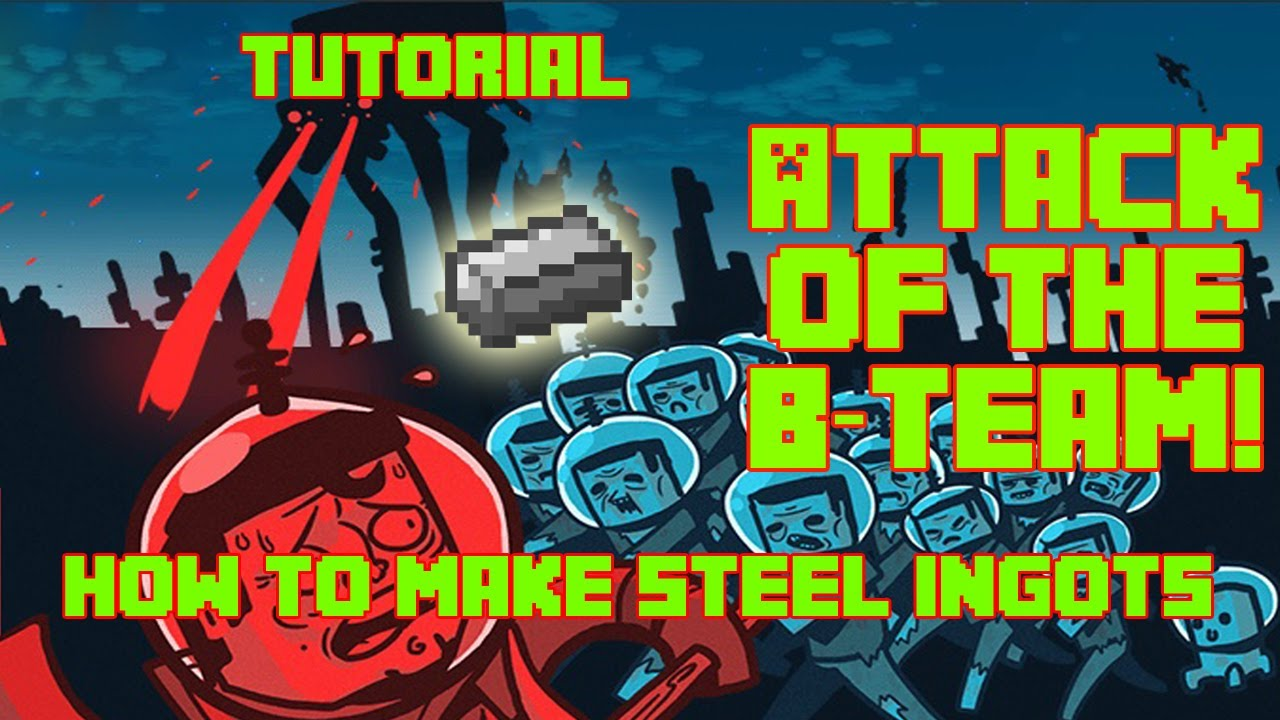 Minecraft - Attack Of The B Team Tutorial - How To Make