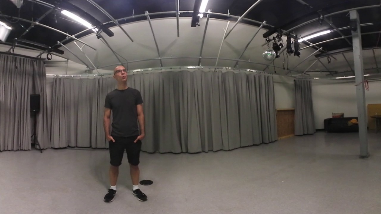 Ambisonics ambisonic audio test: sound changes as you turn your head around.