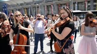 Baltic Sea Philharmonic – 'Rock Symphony' from memory – Flashmob Lucerne, June 2018