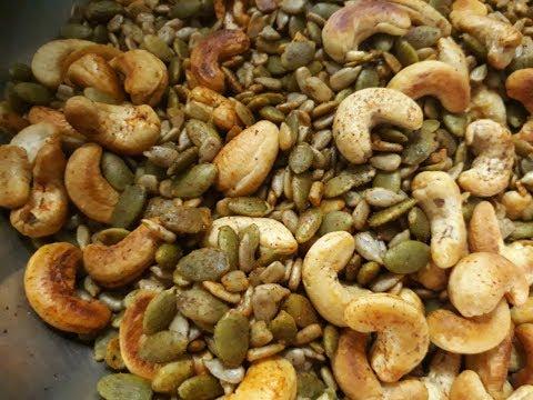 Healthy Snacks / Cashew / Pumpkin Seed / Sunflower Seeds / LicaCooks