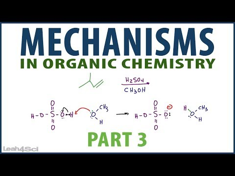 Organic Chemistry Reaction Mechanism Pattern Examples - YouTube