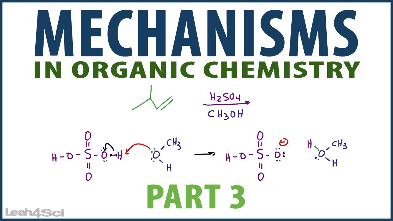 Organic Chemistry Reaction Mechanism Pattern Examples