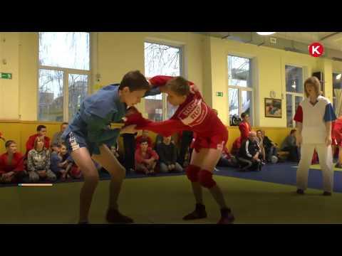 КРТВ  VII Нахабинский новогодний турнир по самбо