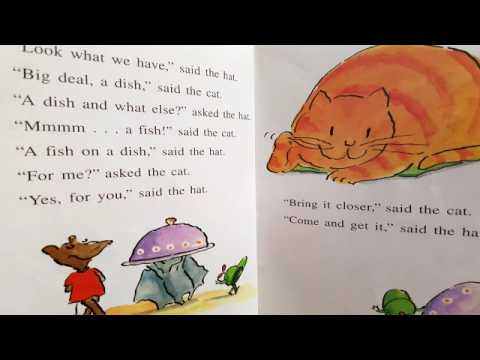 Children Story The Fat Cat Sat On The Mat Youtube