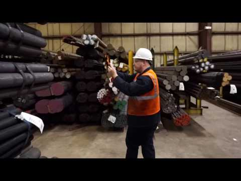 Eaton Steel Corp. uses Tempo Technologies SmartPart System and AirTags to locate parts