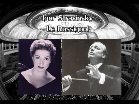 Igor Stravinsky-Le Rossignol-Act II (Andre Cluytens, Janine Michau)