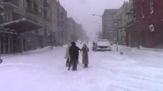 Winter Storm Jonas/Blizzard in Brooklyn, NY