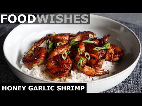 Honey Garlic Shrimp - Food Wishes