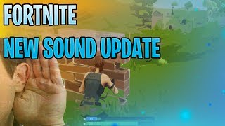 """NEW GAME MODE - THE """"SOUND UPDATE"""" NEW FORTNITE DROPS ANOTHER GAME ..."""