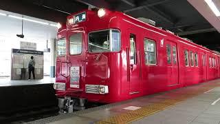 特急でも活躍!名鉄6000系6028f 特急内海行き 金山発車