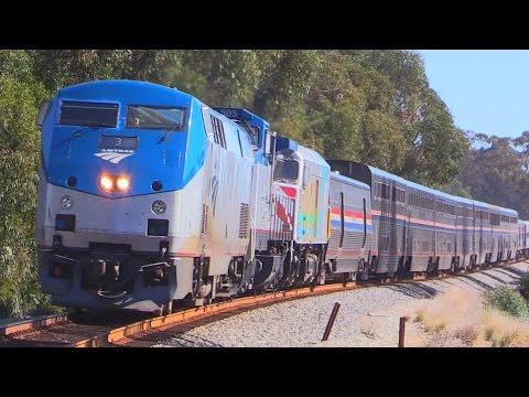 RARE Amtrak Coast Starlight CHASE !!!