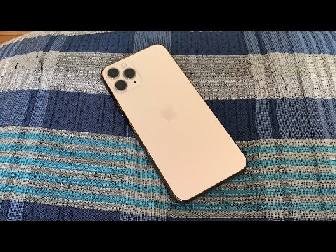IPhone 11 Pro Gold Unboxing