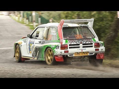 MG Metro 6R4 Group B Rally Car: 10,000 Rpm 3.0 N/A V6 Sound!
