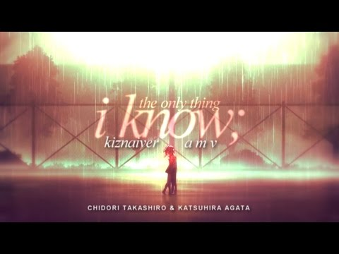 the only thing i know | katsuhira&chidori | kiznaiver from YouTube · Duration:  1 minutes 11 seconds
