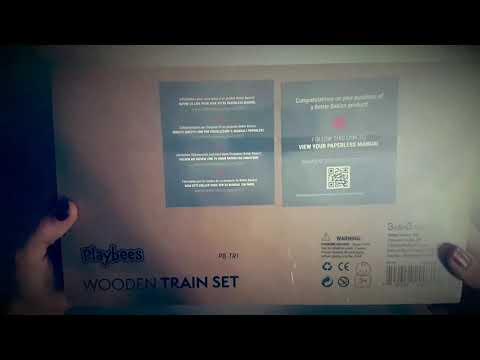 Playbee train en bois