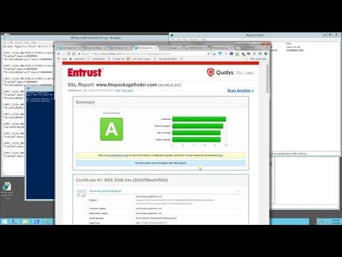 Windows Server - How to Enable TLS 1 2 Registry Script (Disable TLS 1 0,  1 1, RC4, SSL 2 0, 3 0, DH)