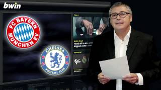 Bayern Múnich -- Chelsea: Supercopa de Europa.