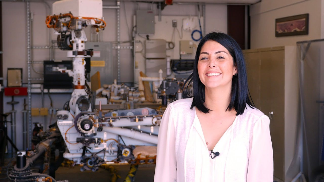 Meet NASA's Diana Trujillo, Mars 2020 Phase Lead, Robotic Arm Science — Behind the Spacecraft — Live