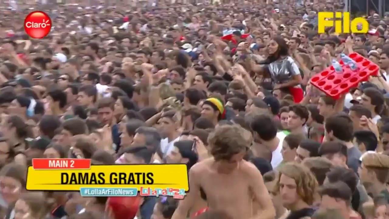 La Tercera del Borracho - Damas Gratis (Lollapalooza Argentina 2018)