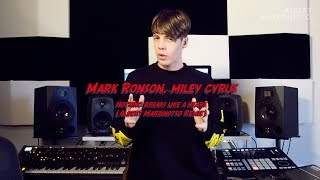 Mark Ronson, Miley Cyrus - Nothing Breaks Like A Heart (Albert Marzinotto Remix) STUDIO TU ...