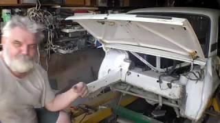 Ремонт, замена битого багажника ВАЗ 2107.  2 часть.