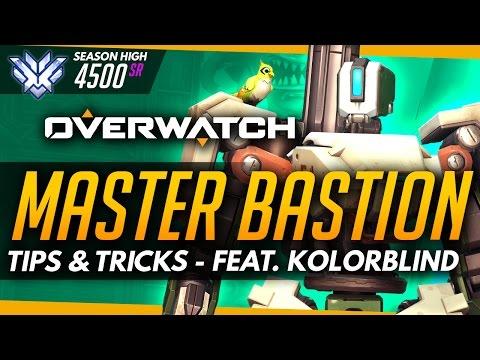 Overwatch | Master Bastion - Tips and Tricks (ft KolorBlind)