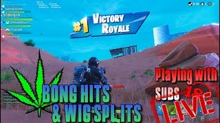 🔥 FORTNITE LIVE 18+ adult 🔫 PLAYING WITH SUBS 🎮 PC PS4 XBOX MOBILE 👑 KingBong 420 💚 #KingBong