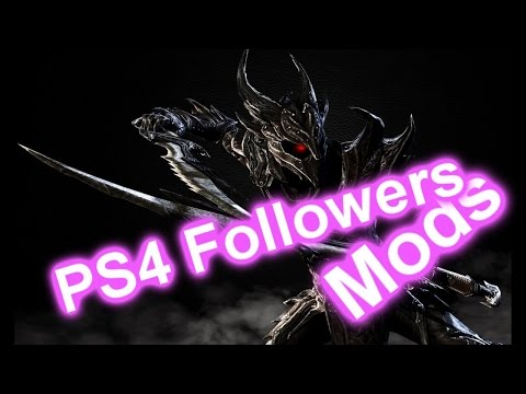 Skyrim PS4 Mods: Multiple Follower System (Modded Follower Friendly