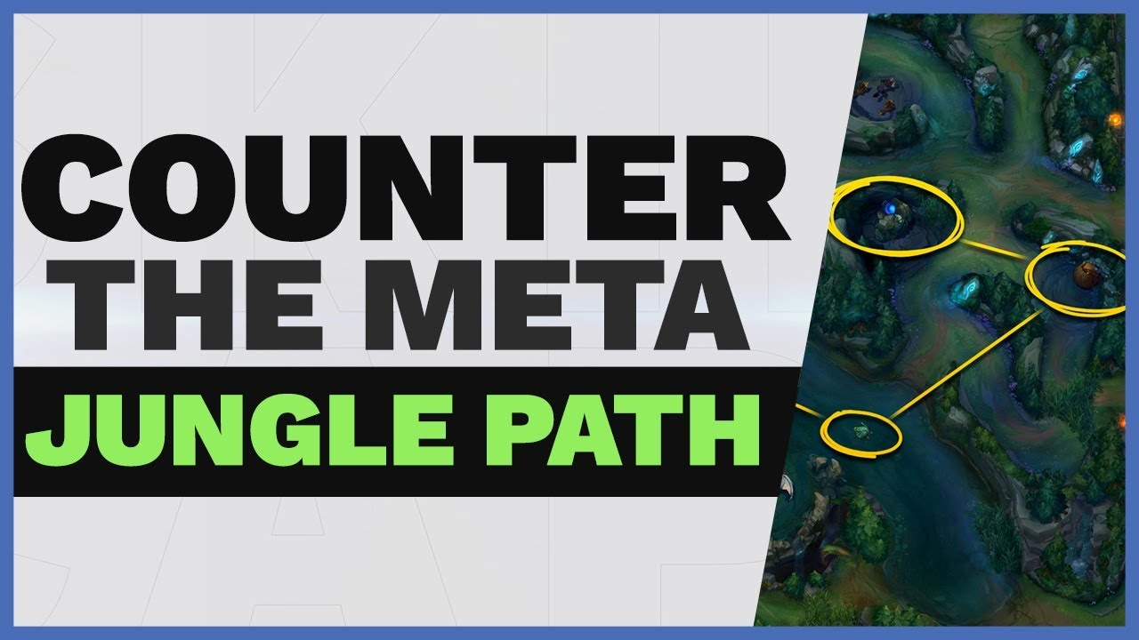 Overpowered Jungle Route That Counters The Meta Skill Capped Youtube
