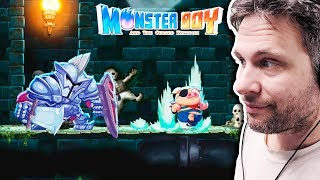 Monster Boy And The Cursed Kingdom #2 - PORCO NO ESGOTO! (Gameplay) #MonsterBoyGame