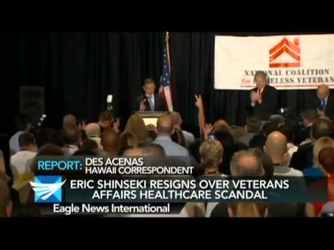Erik Shinseki resigns over Veterans Affairs healthcare scandal