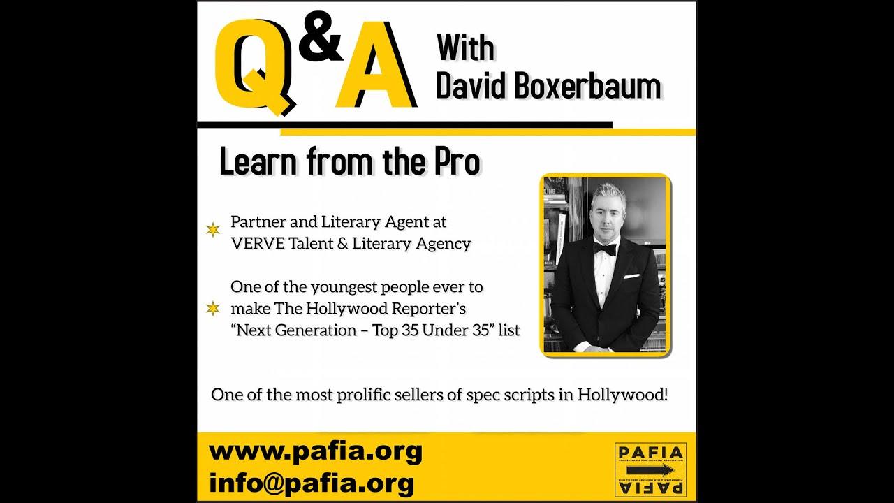 Masterclass with David Boxerbaum
