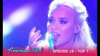 gabby barrett wows the judges with emotional performance american idol 2018