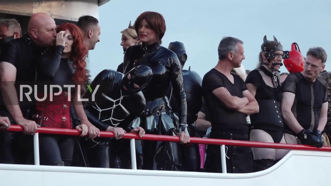 SM Torture ship sets sail on Germanys biggest lake  YouTube