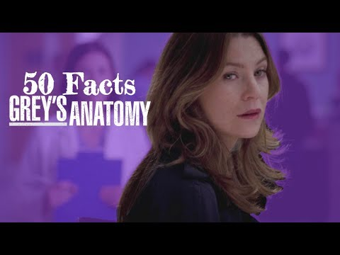 50 Facts About Grey's Anatomy