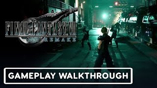 Final Fantasy VII Gameplay Demo Walkthrough - E3 2019