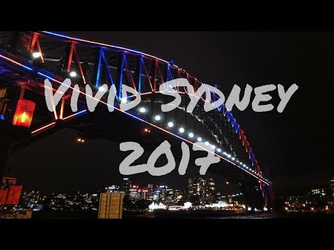 Vivid Sydney 2017 (Google Pixel XL + Feiyu Tech Vimble C Cinematic Camera Test)