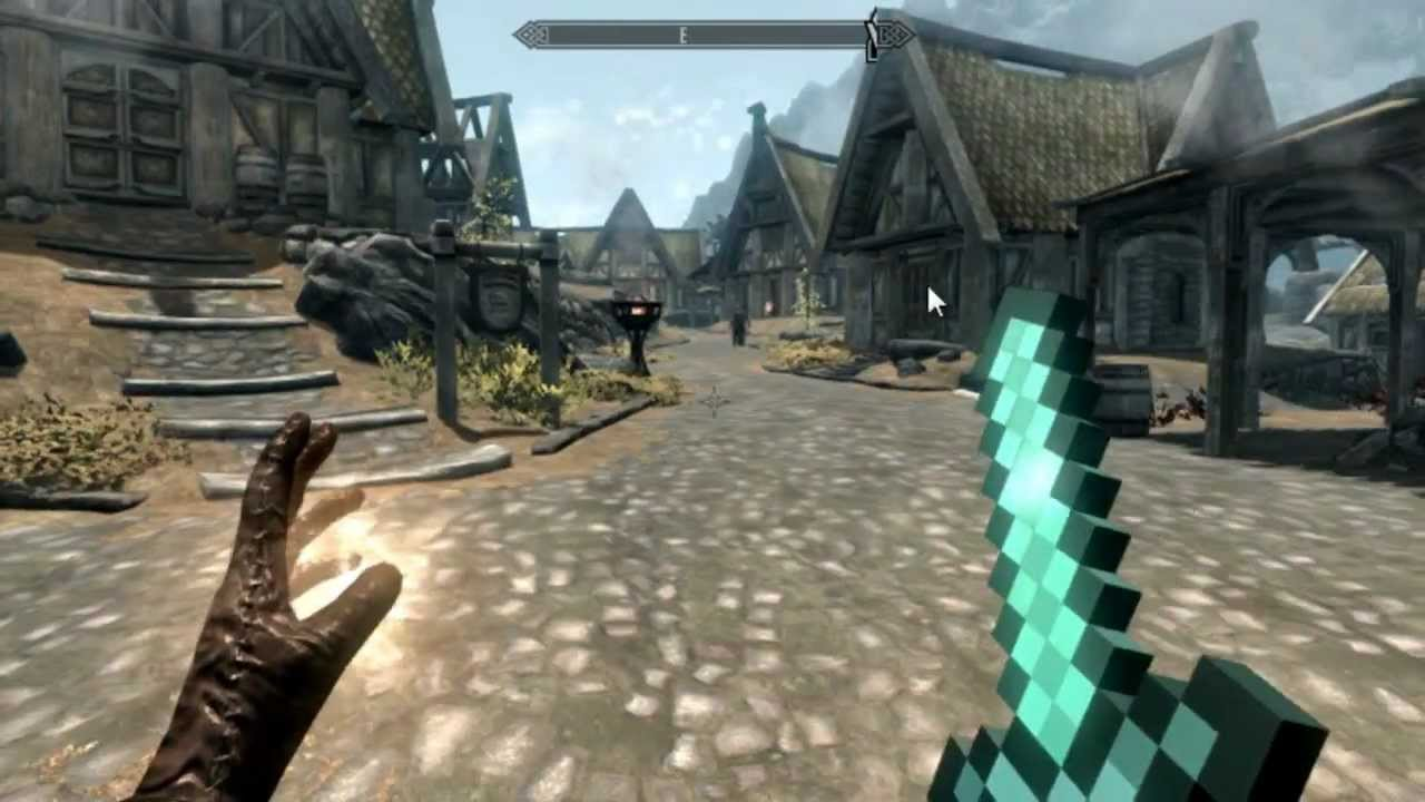 Diamond Minecraft Skyrim