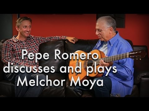 Pepe Romero discusses and plays Melchor Moya and sons (1894 Hijos de Melchor Moya)