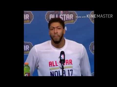 "Anthony Davis ""ahh fuck"""
