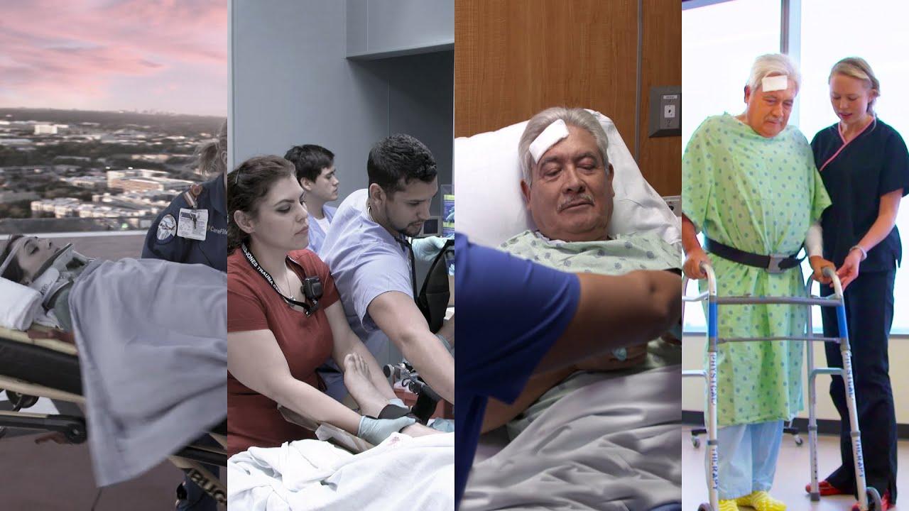 Video Level I Trauma Care Parkland Health Hospital System