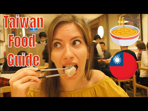 Taiwanese Food Guide in Taipei, Taiwan Compilation
