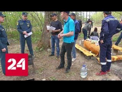 В Подмосковье вводится особый режим противопожарной безопасности - Россия 24