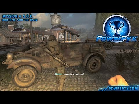 Call of Duty WW2 - Sunday Driver Trophy / Achievement Guide (Mission 4)