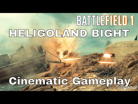 Heligoland Bight cinematic gameplay - Battlefield 1: Turning Tides |