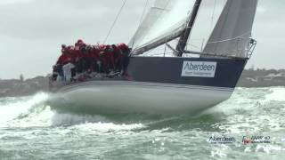 Aberdeen Asset Management 2014/15 Farr 40 Victorian State Title day 2 video