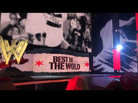 WWE RAW Live in CHICAGO 03/03/14 CM PUNK...